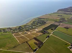 Luftfoto sommerlandet