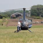helikopterbesøg